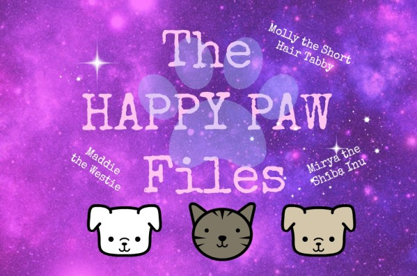 the happy paw files logo